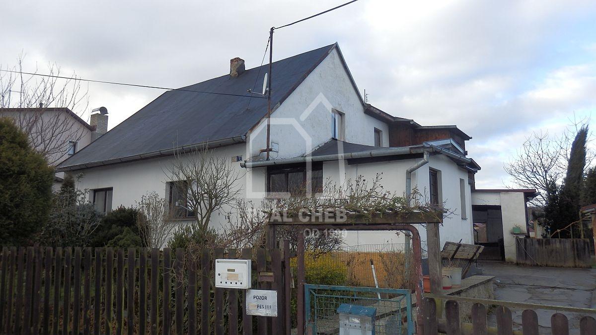 Rodinný dům 7+2sdílnou vKarlových Varech– Dvorech, ul. URybníčků.