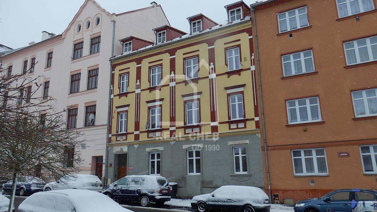 Pronájem nového bytu2+1vcentruChebu, ul. KNemocnici