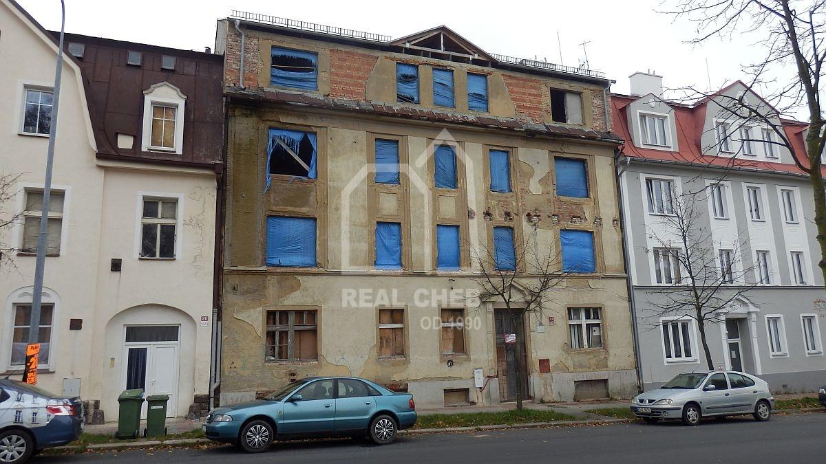 Bytový dům– 12bytových jednotek vAši, Chebské ul.