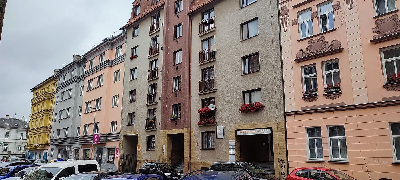 Prodej bytu1+1vcentruChebu, Mánesova ul.