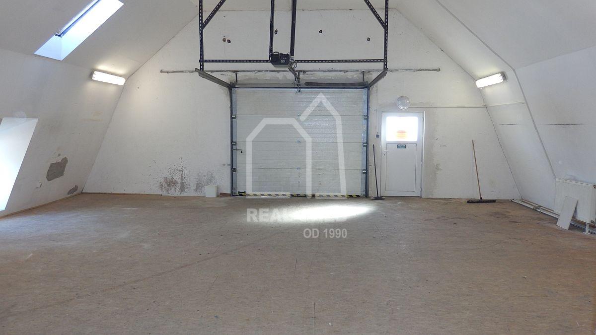 Pronájem haly vHorních Lomanech  , Družstevní 9, Františkovy Lázně