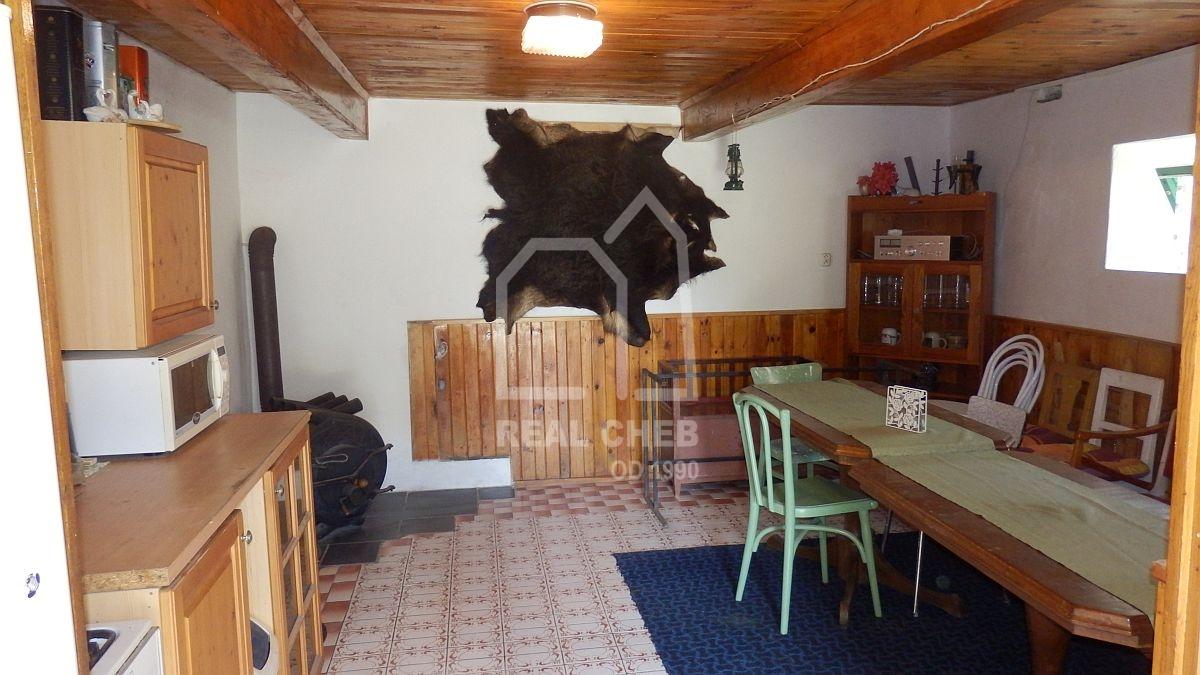 Prostorná, rekreační chata vCetnově uChebu.  , Cetnov 102