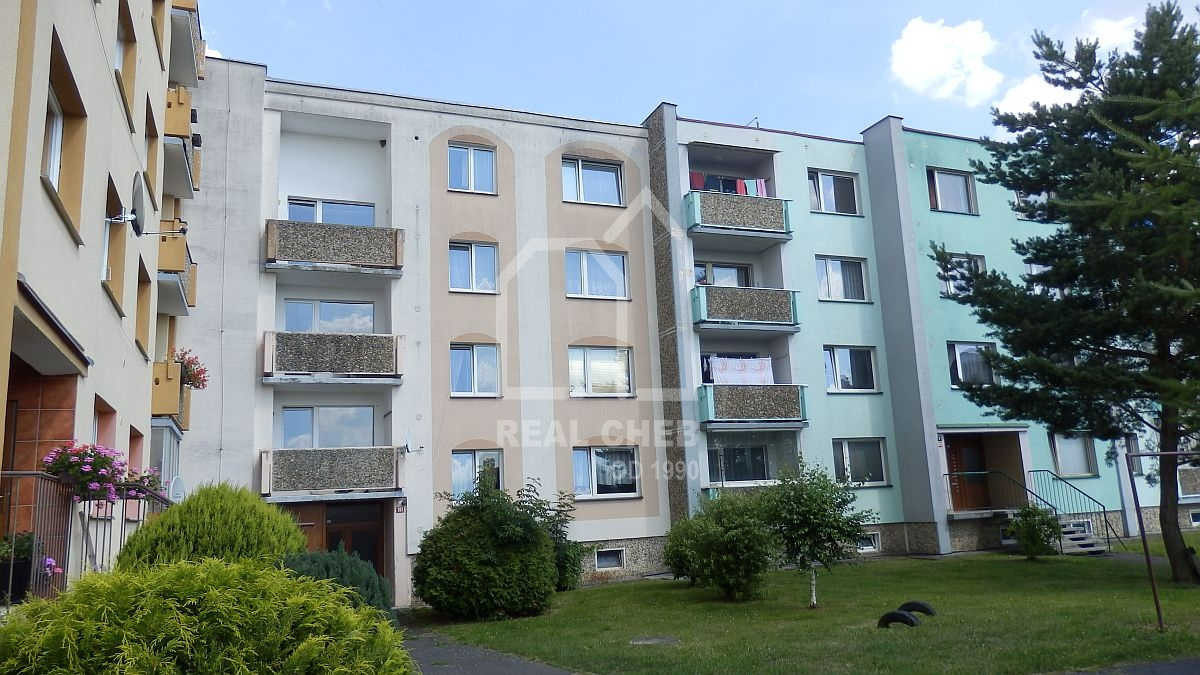 Pronájem bytu1+1F.Lázně, Táborská ul.  , Táborská 363,10, 351 01 Františkovy Lázně