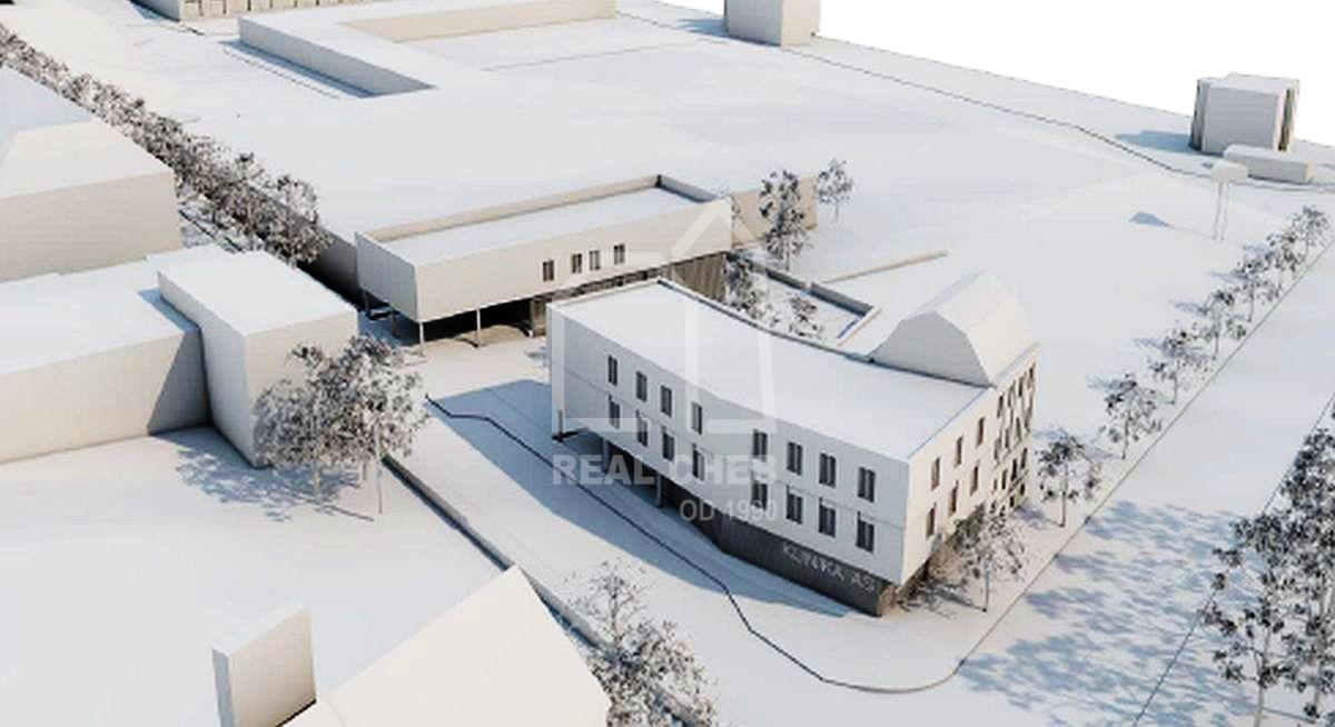 Komerční stavební pozemekAš, Chebská ul.  , Chebská 2934, 352 01 Aš