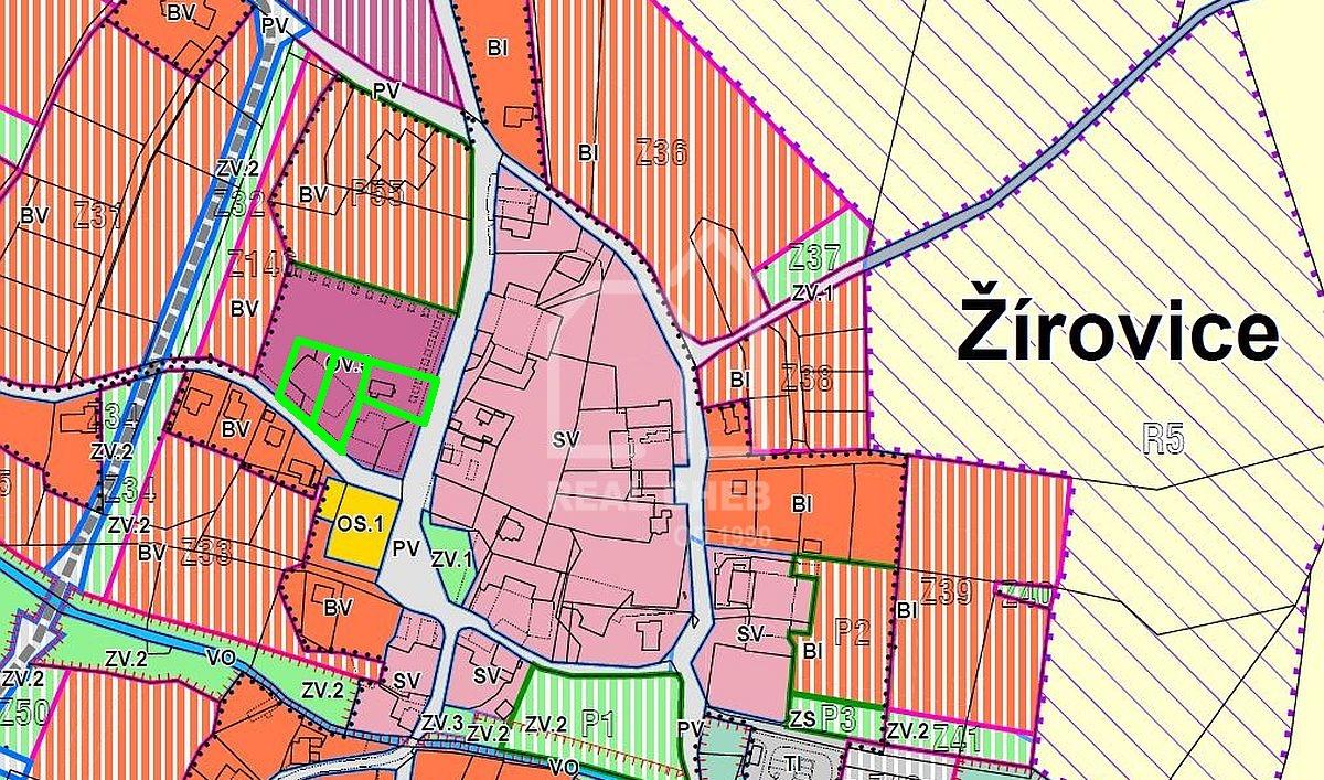 Stavební pozemky Žírovice uF. Lázní  , Žírovice 49, Františkovy Lázně
