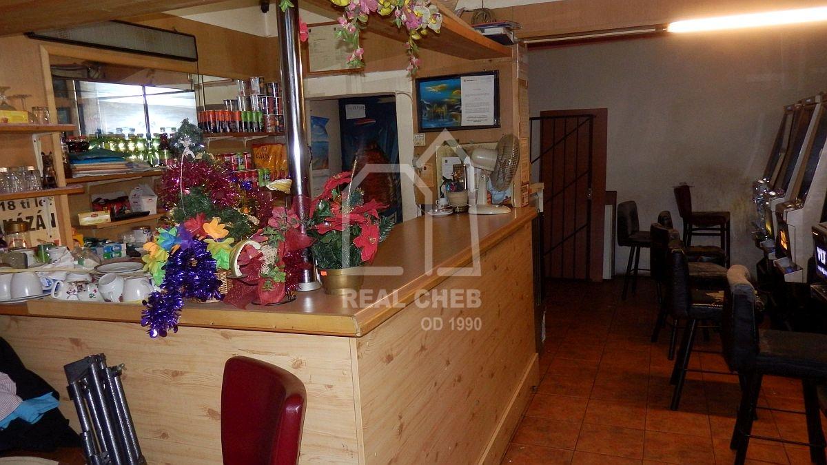 Bar, ubytovna a bar shernou vChebu, Pivovarské ul.  , Cheb, Pivovarská 1533
