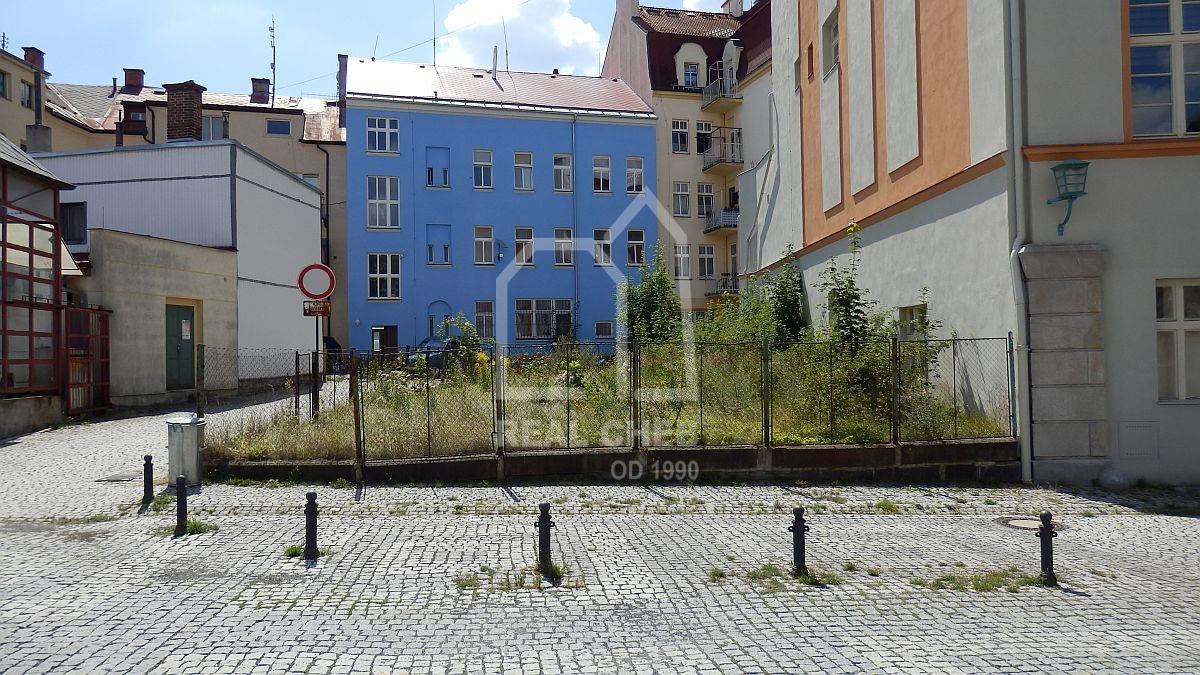 Pozemek vcentru města– Aš, Poštovní náměstí.  , Poštovní náměstí