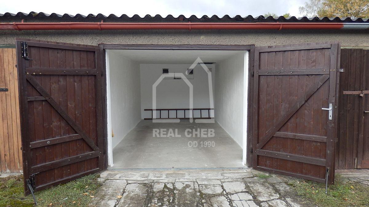 Pronájem garáže vChebu, Dyleňské ul.  , Dyleňská, Cheb