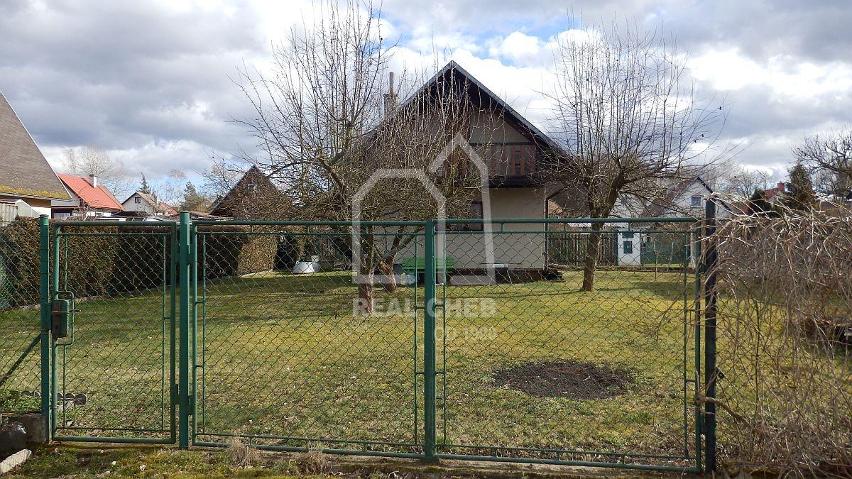 Rekreační chata upřehrady Jesenice, Malá Všeboř, Cheb.  , Cheb, Podhrad č.ev. 565