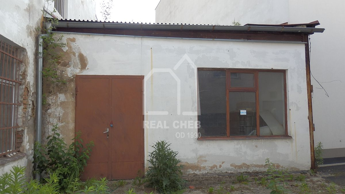 Pronájem skladových prostor vChebu, Havlíčkověul.  , Havlíčkova 1803/2, Cheb