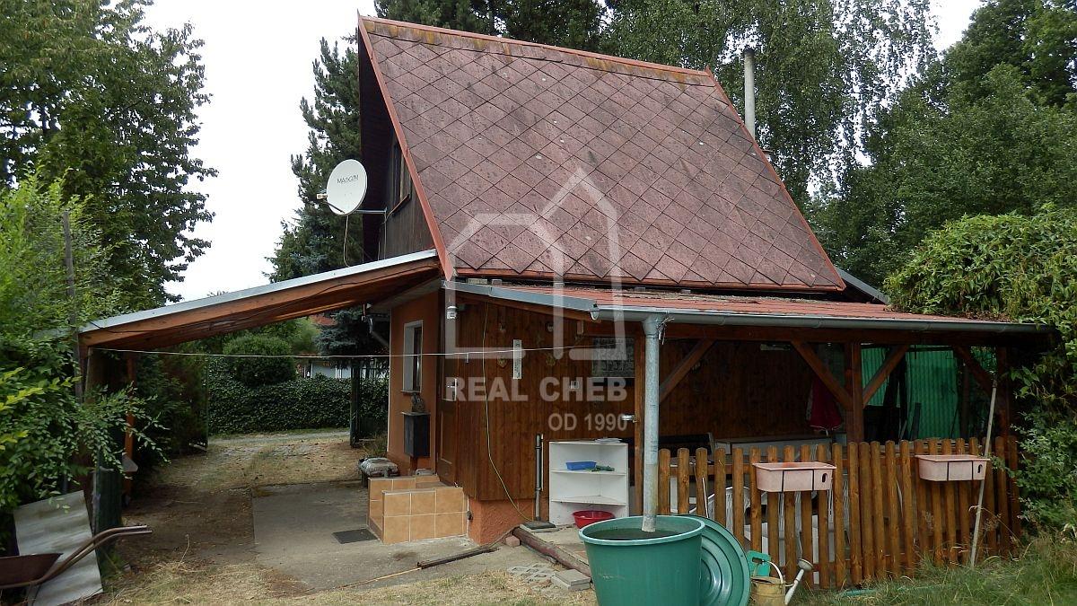 Rekreační chata vPodhradu uChebu– osada UKaštanu.  , Podhrad u Chebu č. ev. 791