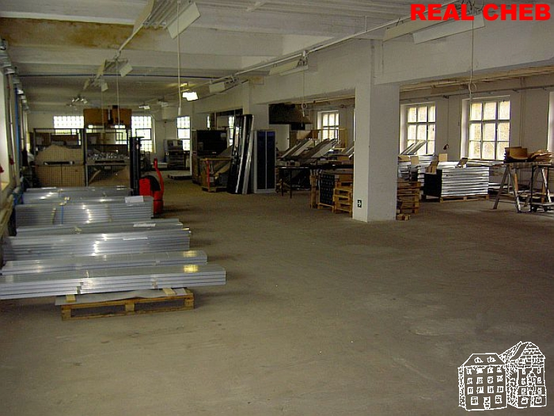 Prostory výrobní, skladové pronájem  , Plesná u Chebu