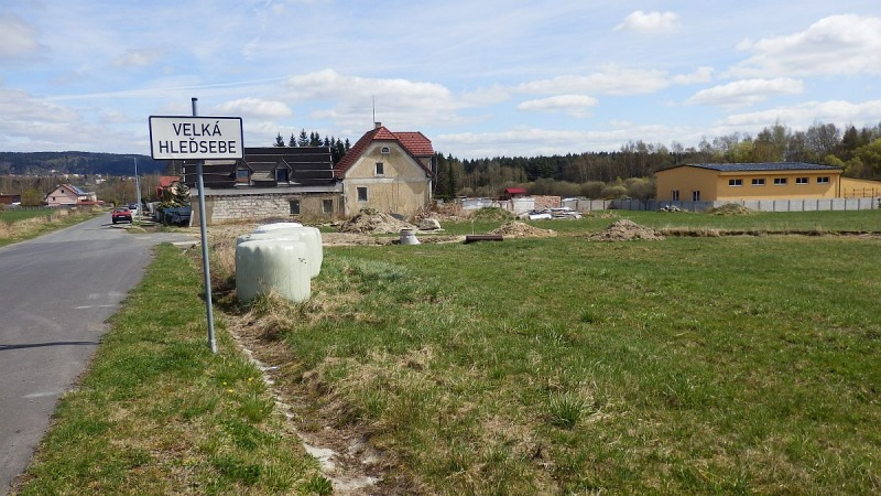 Stavební pozemek Velká Hleďsebe <span>K Malé Hleďsebi</span>