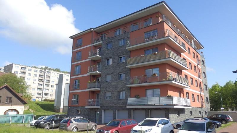Velkometrážní byt vnovostavbě 1+1ovelikosti47m² <span>Cheb, Havlíčkova 2605/9</span>