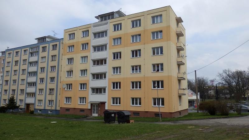 Bytová jednotka 1+1slodžií vcentruChebu, Májovéul.