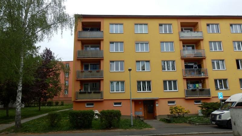 Bytová jednotka 1+0vChebu na sídlišti Skalka, ul. Do Zátiší.