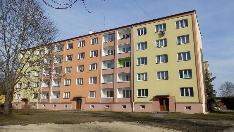 Pronájem udržovaného bytu1+3vChebu, ul. Kosmonautů. <span>Kosmonautů 1235/6</span>