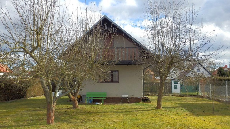 Rekreační chata upřehrady Jesenice, Malá Všeboř, Cheb.