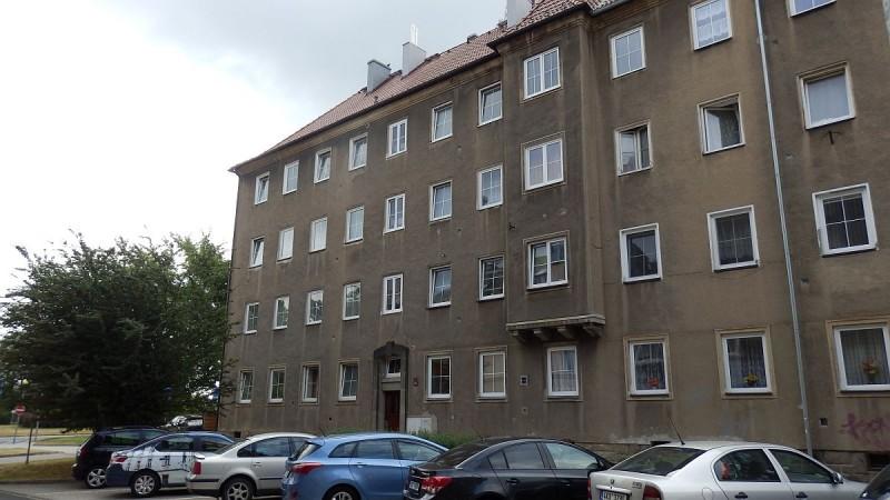 Bytová jednotka 4+1slodžií vrozšířeném centruChebu, ul. Obětí nacismu. <span>Obětí nacismu 1092/7, Cheb</span>