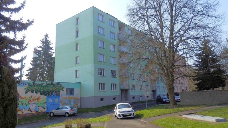 Bytová jednotka 1+1vChebu, ul. Stavbařů.