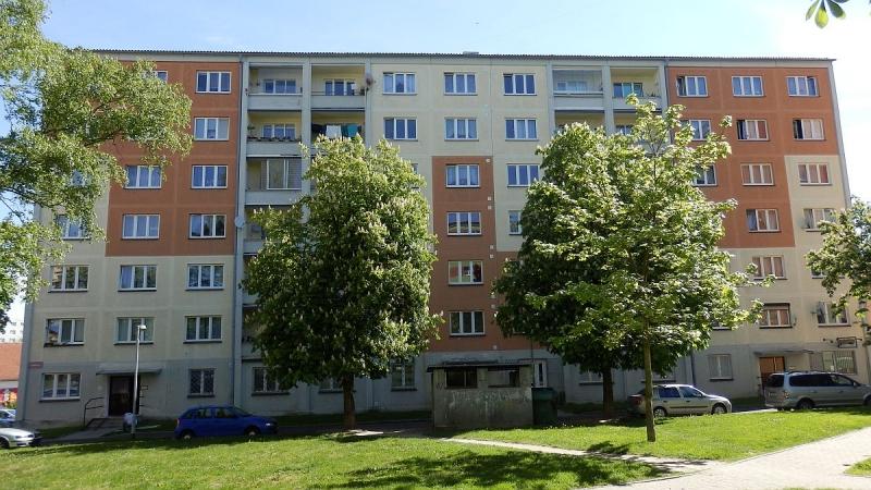 Pronájem bytu1+1vChodově, ul. Budovatelů.
