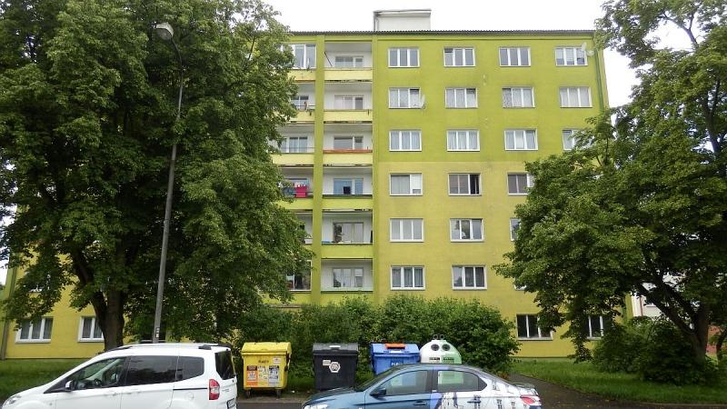 Pronájem pěkného bytu2+1vChebu, ul. Osvobození.