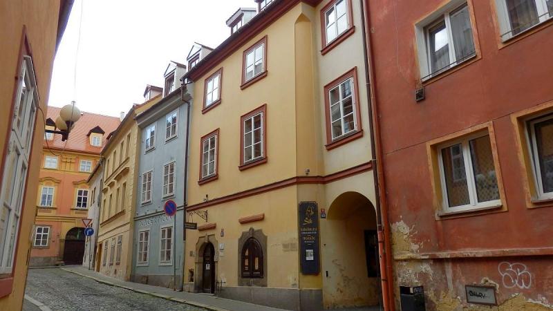 Pronájem pěkného bytu1+1vhistorickém centruChebu, Provaznickául.