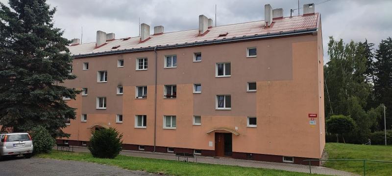 Pronájem pěkného bytu1+1vHorním Slavkově, Poštovníul.